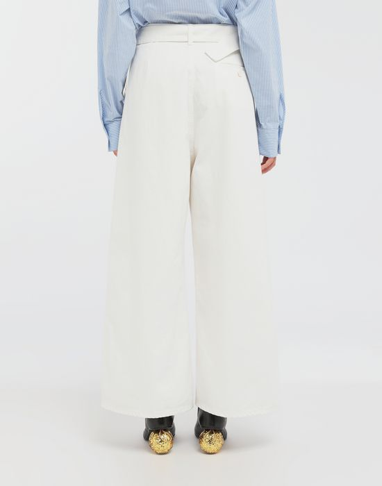 MM6 MAISON MARGIELA Belted wide-leg pants Casual pants [*** pickupInStoreShipping_info ***] e