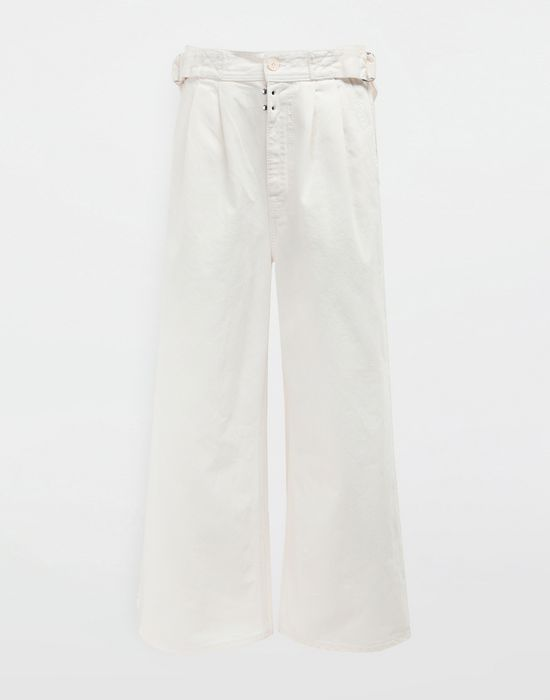 MM6 MAISON MARGIELA Belted wide-leg pants Casual pants [*** pickupInStoreShipping_info ***] f