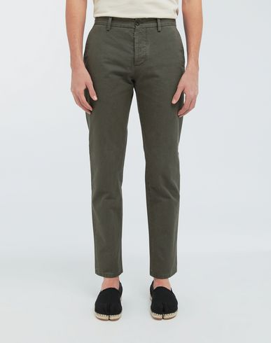 PANTS Classic straight-leg cotton pants