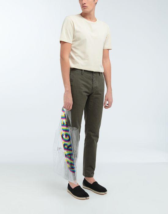 MAISON MARGIELA Pantalon droit classique en coton Pantalon [*** pickupInStoreShippingNotGuaranteed_info ***] d