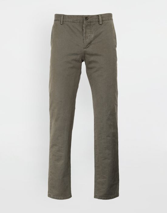 MAISON MARGIELA Classic straight-leg cotton pants Casual pants [*** pickupInStoreShippingNotGuaranteed_info ***] f