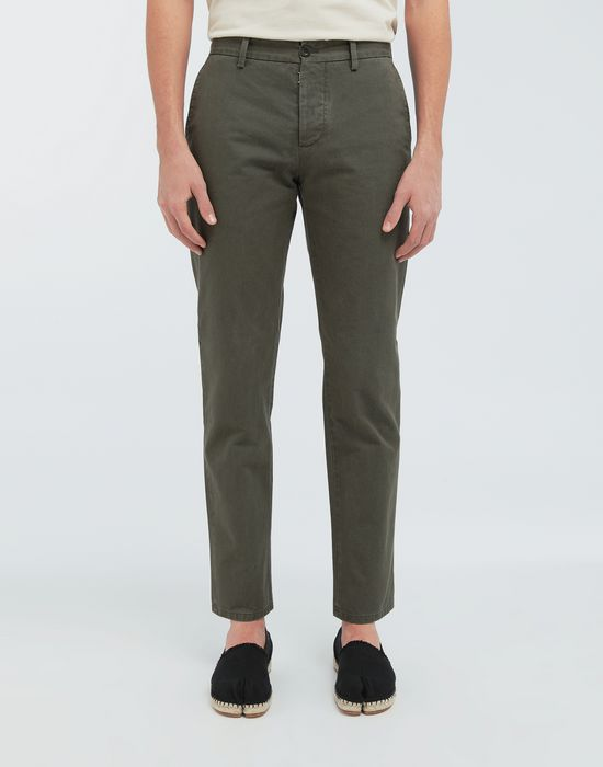 MAISON MARGIELA Classic straight-leg cotton pants Casual pants [*** pickupInStoreShippingNotGuaranteed_info ***] r