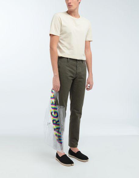 MAISON MARGIELA Classic straight-leg cotton pants Casual pants Man d