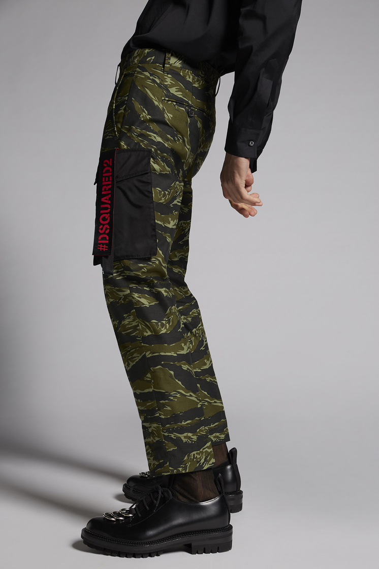 DSQUARED2 Camouflage Hockney Pants Pants Man