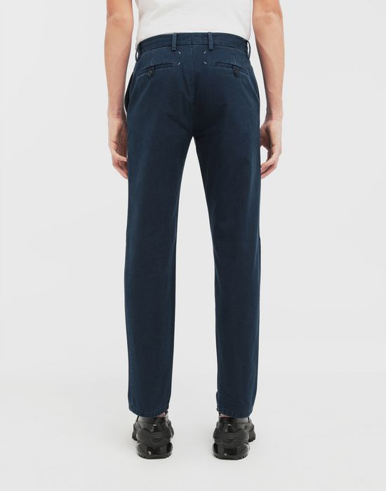 MAISON MARGIELA Classic straight-leg cotton pants Casual pants [*** pickupInStoreShippingNotGuaranteed_info ***] e