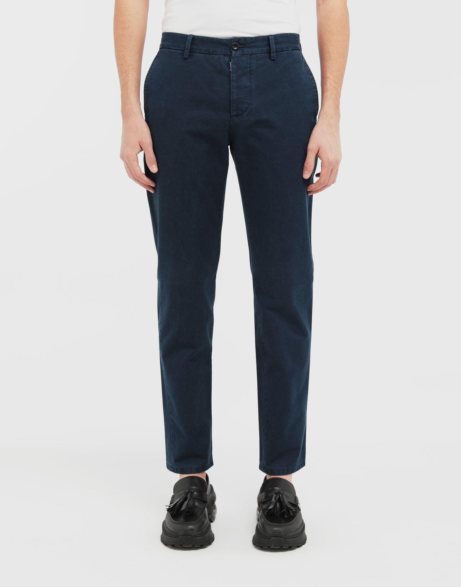 MAISON MARGIELA Classic straight-leg cotton pants Casual pants Man r