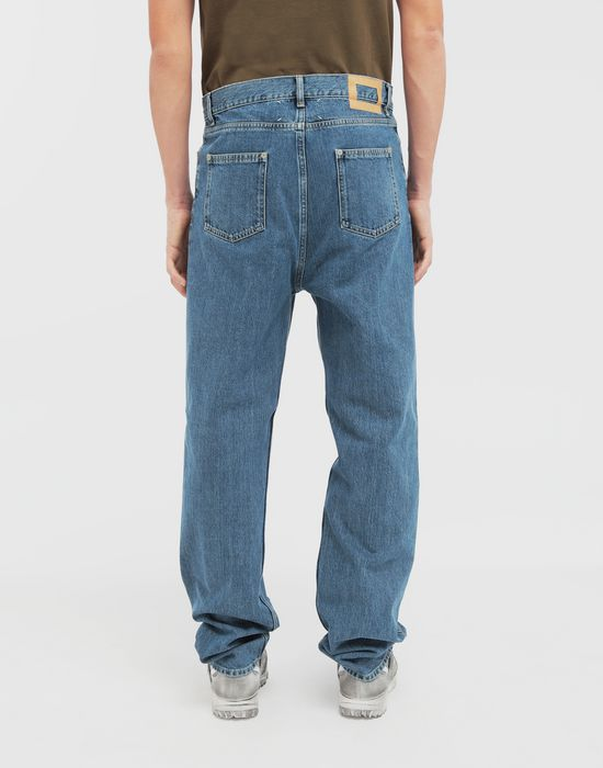 MAISON MARGIELA Décortiqué wide-leg denim pants Jeans [*** pickupInStoreShippingNotGuaranteed_info ***] e
