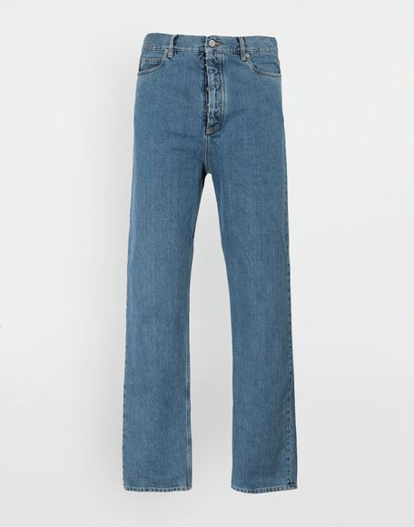 MAISON MARGIELA Décortiqué wide-leg denim pants Jeans Man f