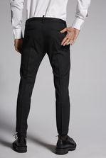 DSQUARED2 Chic Stretch Wool Skinny Dan Pants Trousers Man