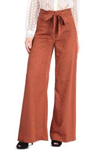 JUST CAVALLI Casual pants [*** pickupInStoreShipping_info ***] Jacquard leopard-pattern trousers f