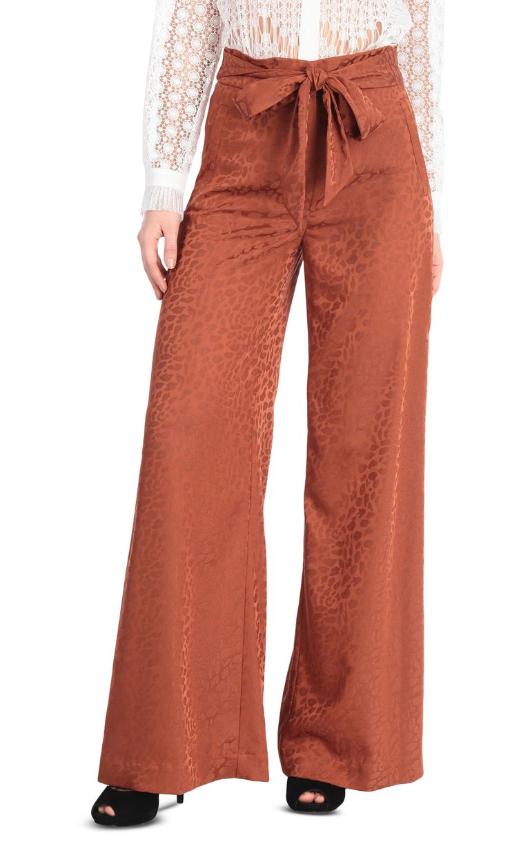 JUST CAVALLI Jacquard leopard-pattern trousers Casual pants [*** pickupInStoreShipping_info ***] f
