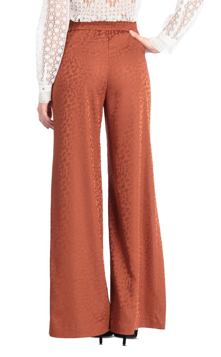 JUST CAVALLI Jacquard leopard-pattern trousers Casual pants [*** pickupInStoreShipping_info ***] r