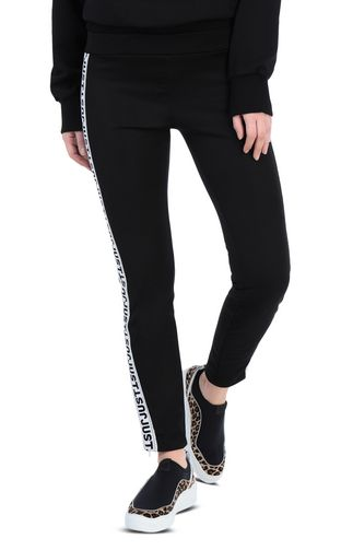 Track trousers with designer logo