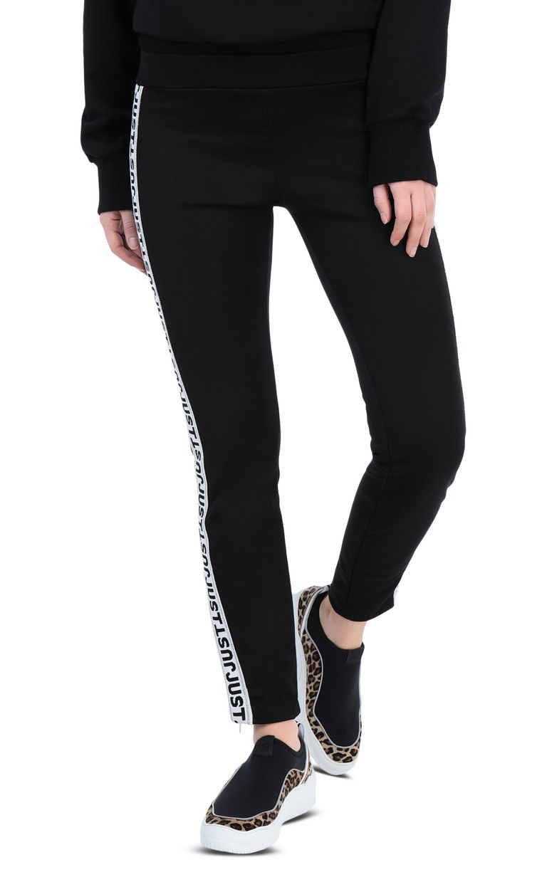 JUST CAVALLI Track trousers with designer logo Casual pants [*** pickupInStoreShipping_info ***] f