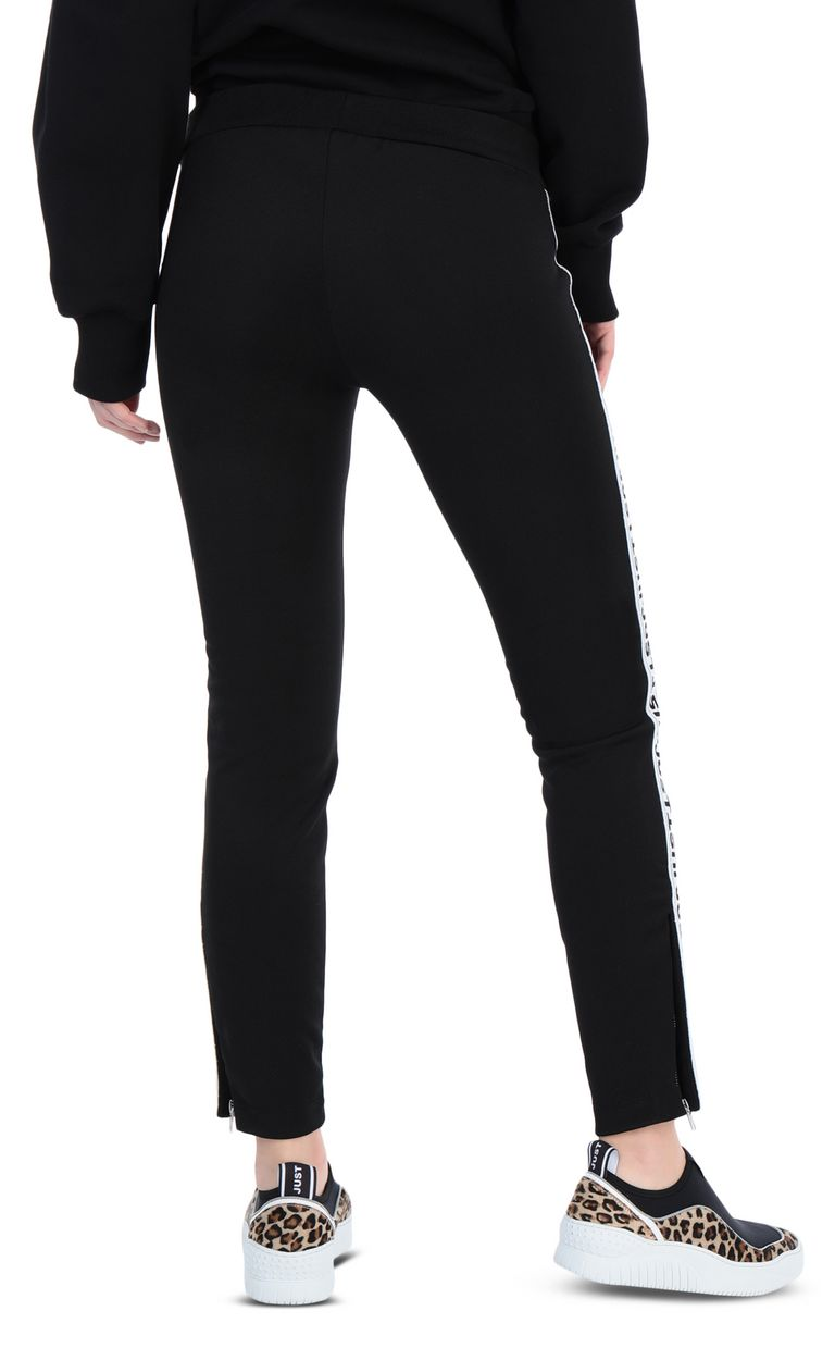 JUST CAVALLI Track trousers with designer logo Casual pants [*** pickupInStoreShipping_info ***] r
