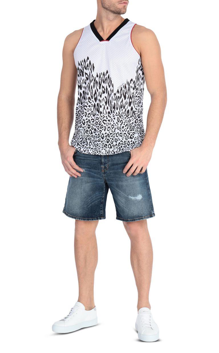 JUST CAVALLI Denim shorts Shorts Man d