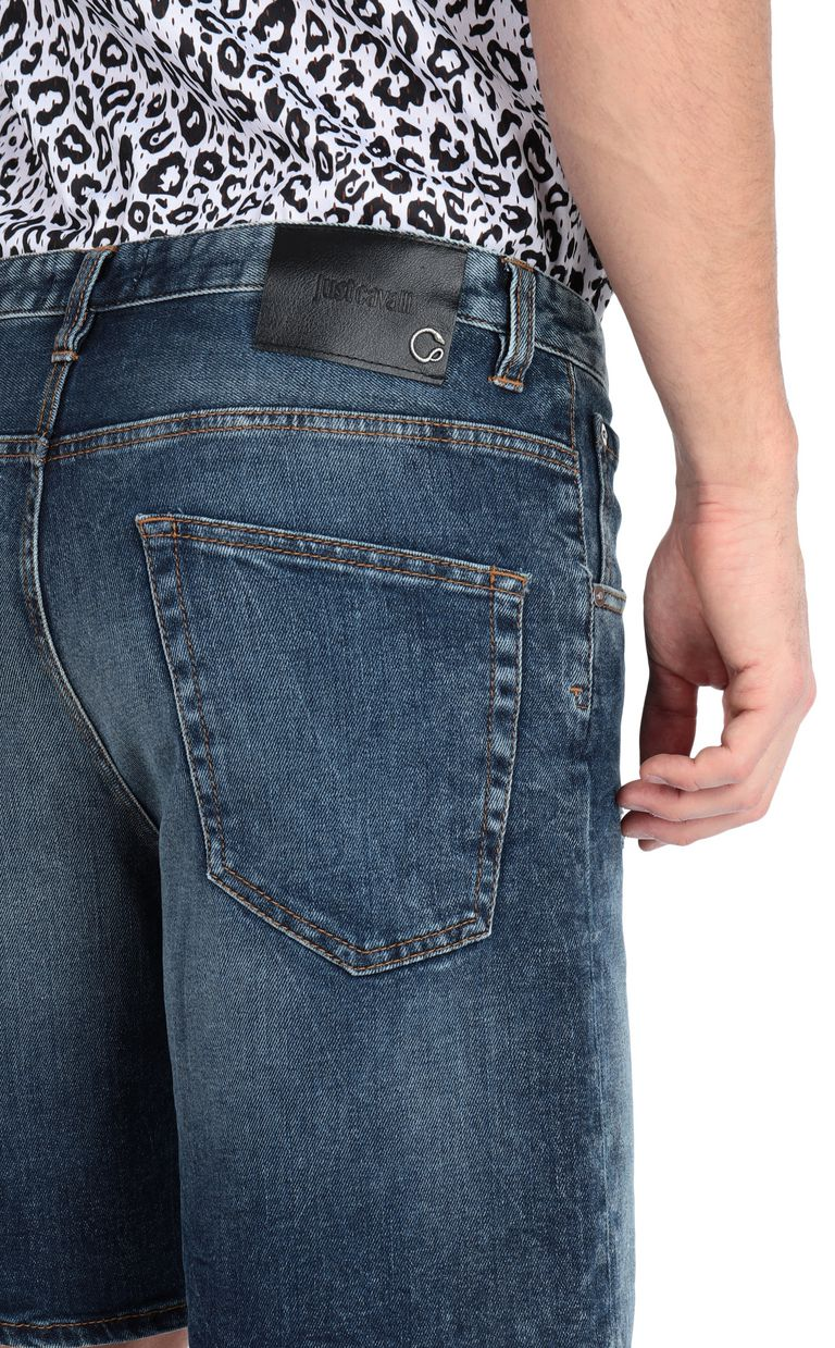 JUST CAVALLI Denim shorts Shorts Man e