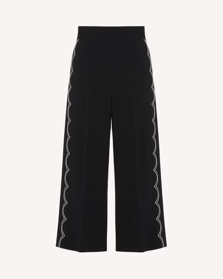 REDValentino Trousers Woman RR3RBA002EU 0NO a