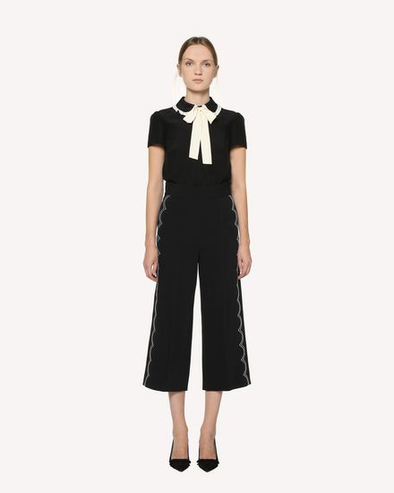REDValentino Pants Woman RR3RBA002EU 0NO f