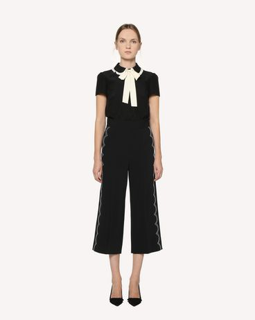 REDValentino RR3RBA002EU 0NO Trousers Woman f