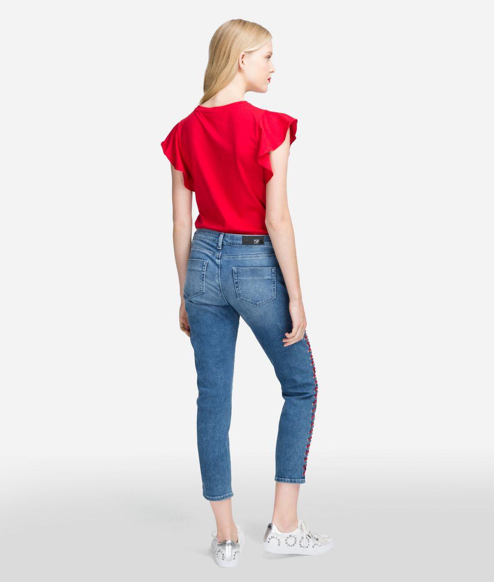 KARL LAGERFELD Girlfriend Jeans Trousers Woman d