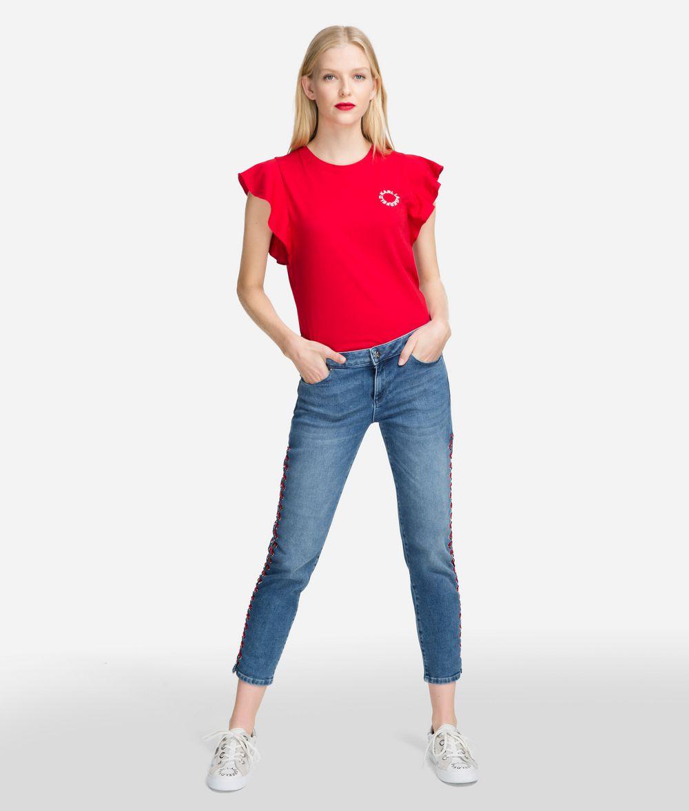 KARL LAGERFELD Girlfriend Jeans Trousers Woman f