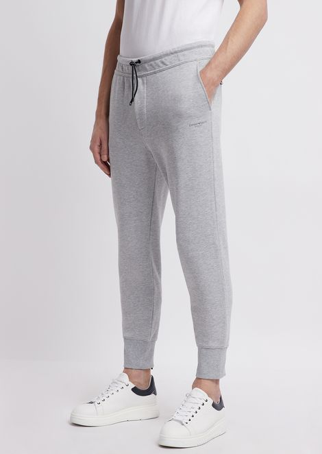 R-EA-MIX fleece jogging pants