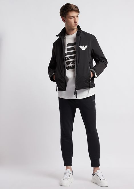 R-EA-MIX fleece jogging pants
