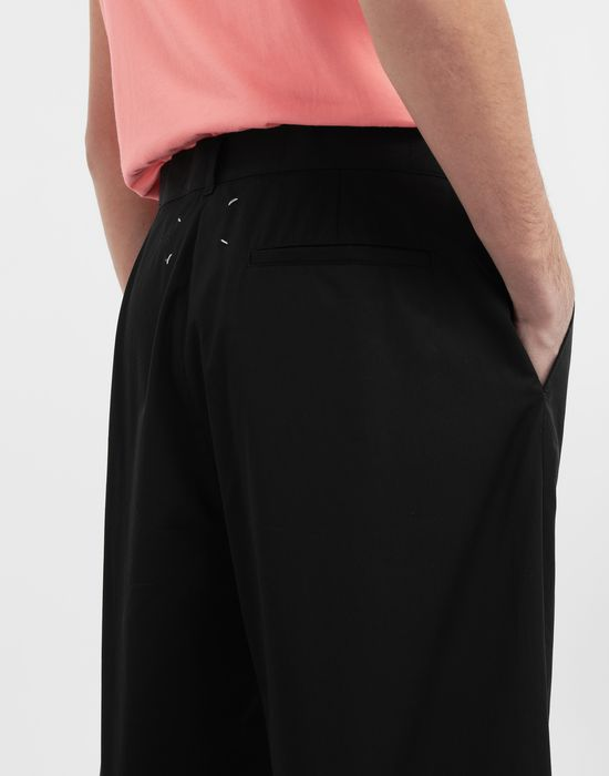 MAISON MARGIELA Cotton midi shorts Bermuda [*** pickupInStoreShippingNotGuaranteed_info ***] b
