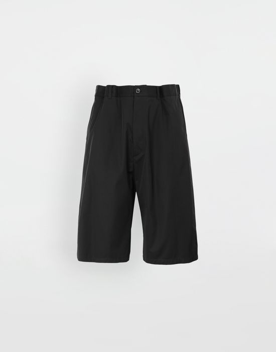 MAISON MARGIELA Cotton midi shorts Bermuda [*** pickupInStoreShippingNotGuaranteed_info ***] f
