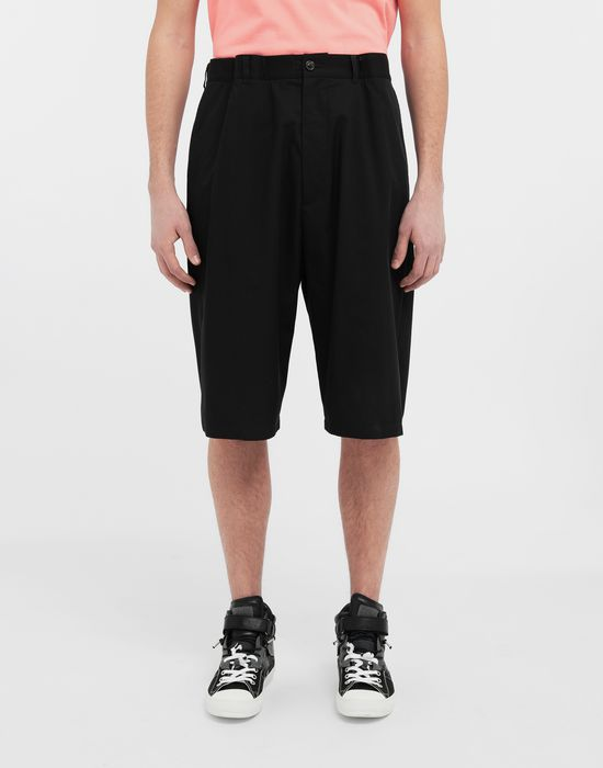 MAISON MARGIELA Cotton midi shorts Bermuda [*** pickupInStoreShippingNotGuaranteed_info ***] r