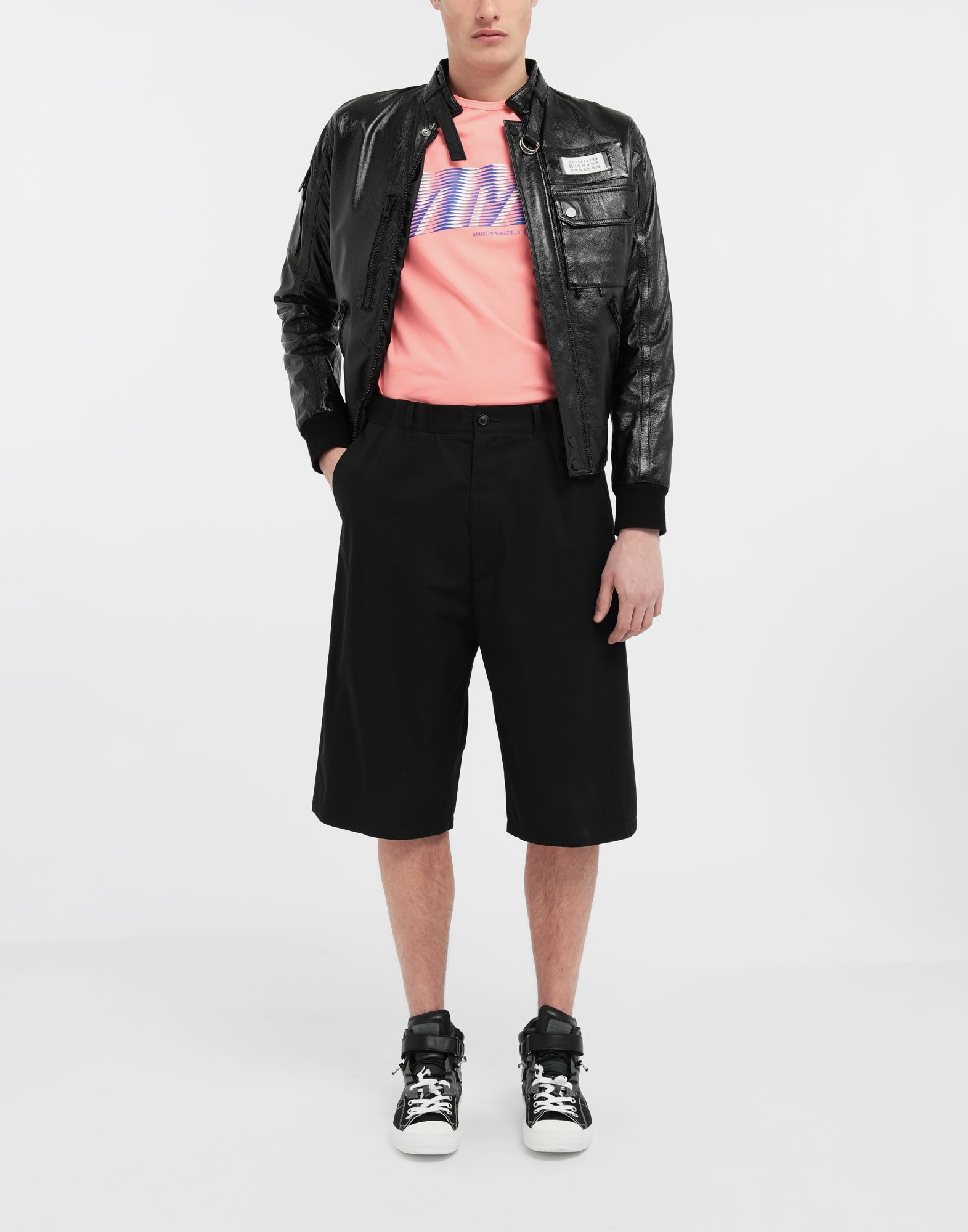 MAISON MARGIELA Cotton midi shorts Bermuda Man d