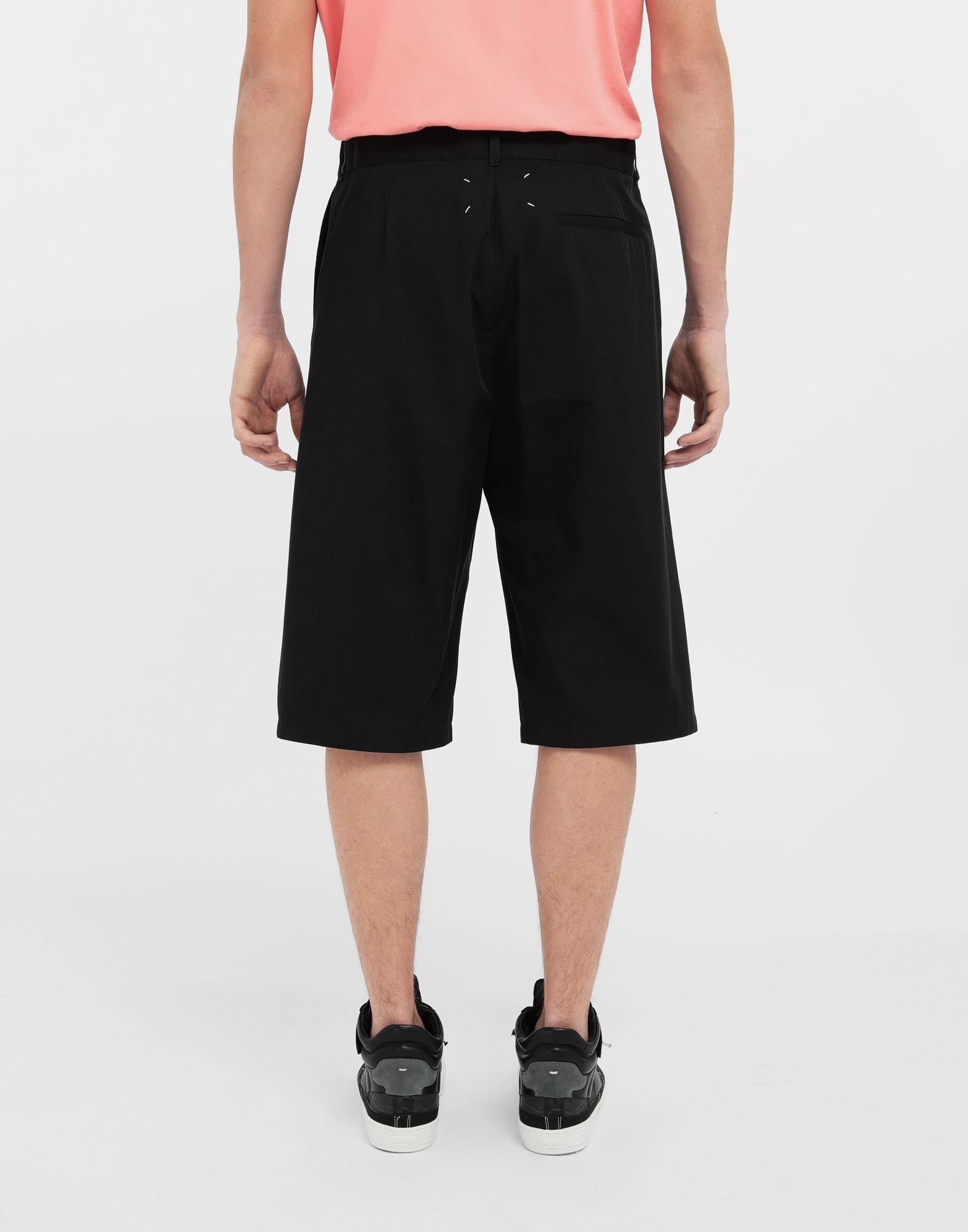 MAISON MARGIELA Cotton midi shorts Bermuda Man e