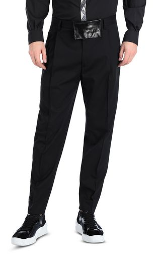 Elegant trousers with front crease