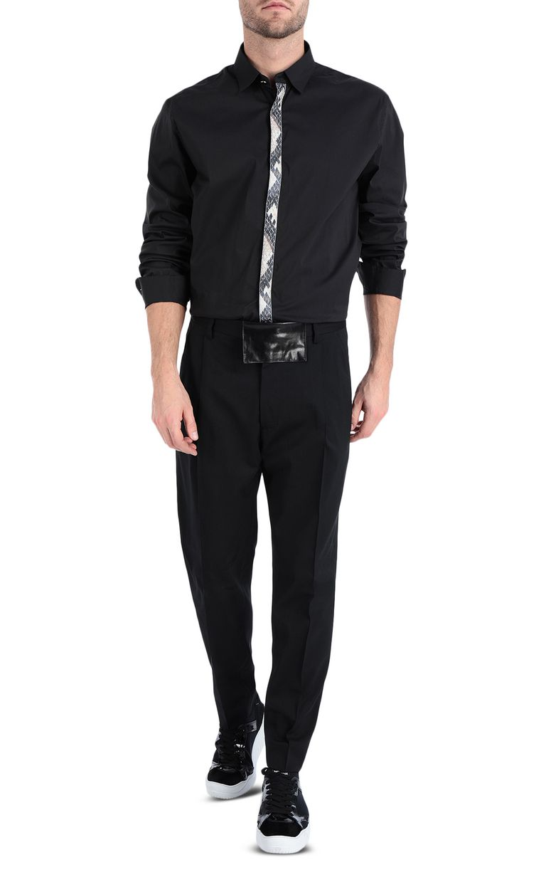 JUST CAVALLI Elegant trousers with front crease Casual pants Man d