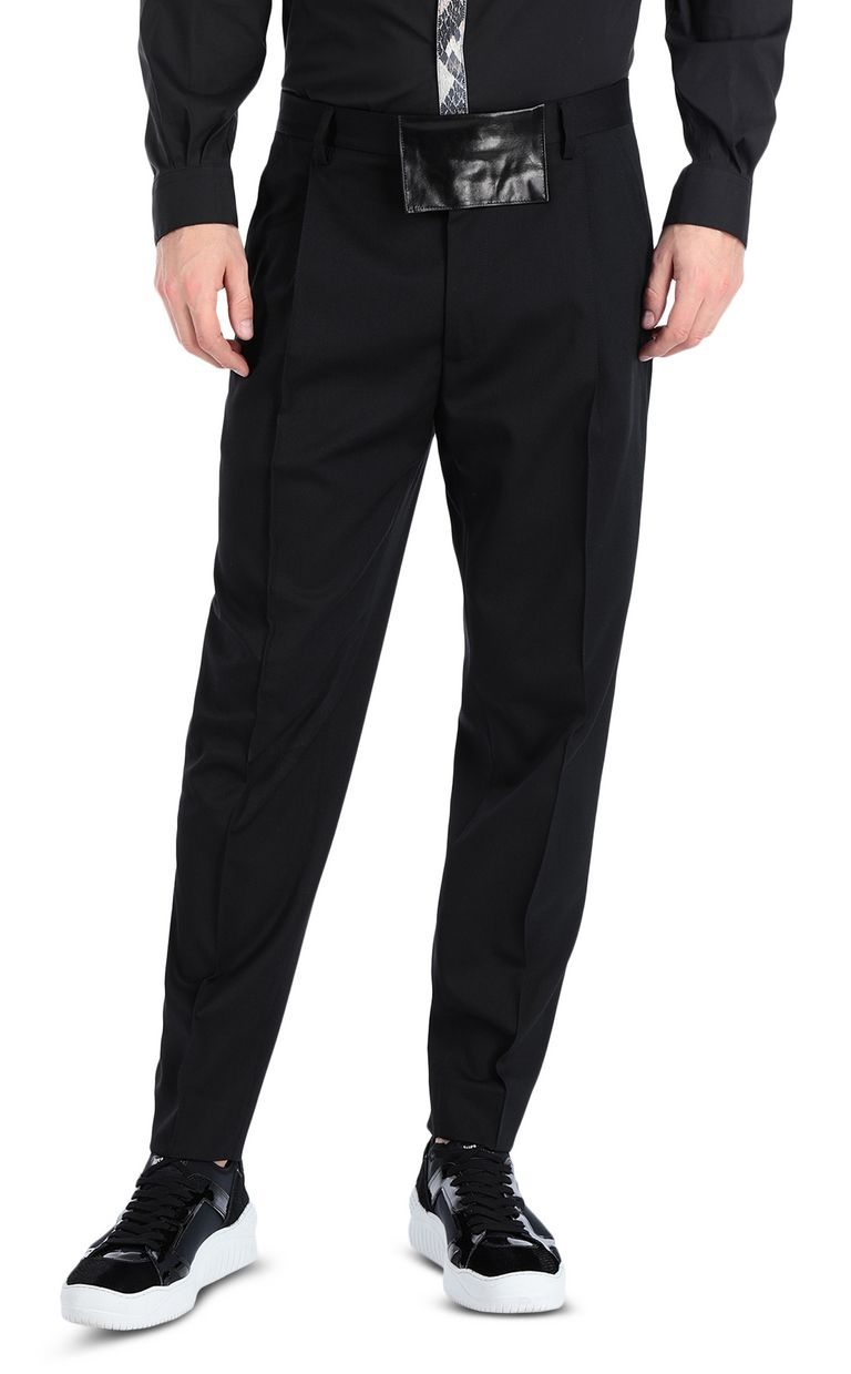JUST CAVALLI Elegant trousers with front crease Casual pants Man f