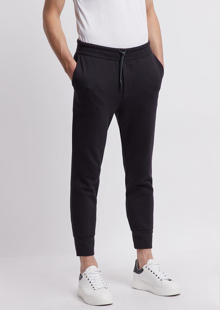 check out 5a783 74d02 Pantaloni joggers R-EA-MIX in felpa