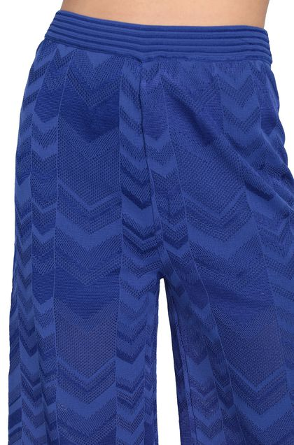 M MISSONI Pants Bright blue Woman - Front
