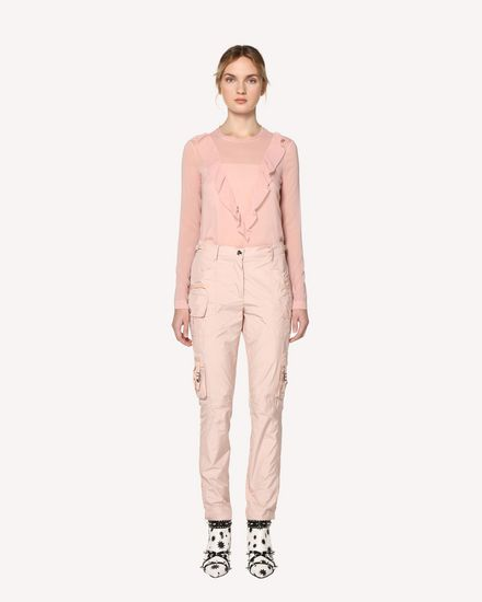 REDValentino Trousers Woman RR3RBA2038U 377 f