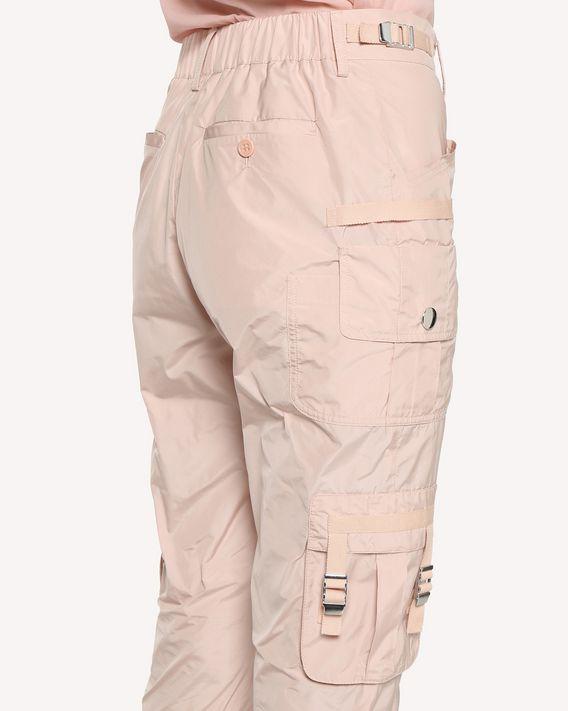 REDValentino Techno Taffeta cargo trousers