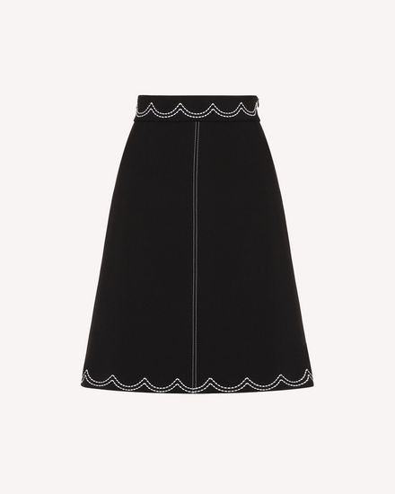 REDValentino Midi Skirt Woman RR3RAA950VM 0NO a