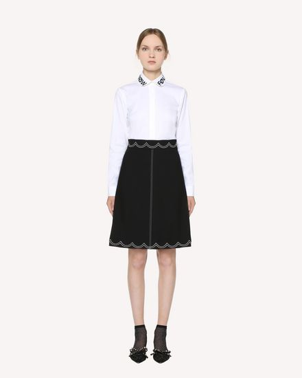 REDValentino Midi skirt Woman RR3RAA950VM 0NO f