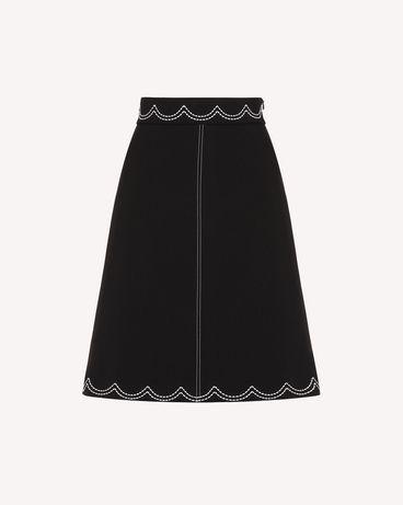 REDValentino RR3RAA950VM 0NO Midi Skirt Woman a