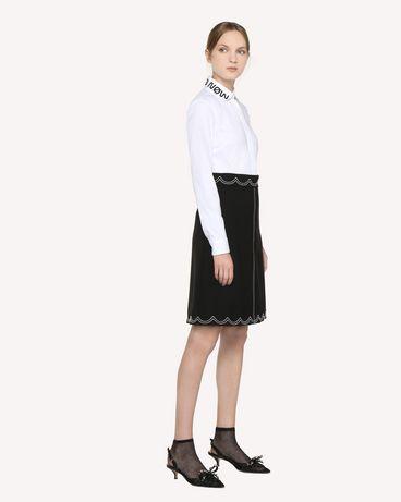 REDValentino RR3RAA950VM 0NO Midi Skirt Woman d