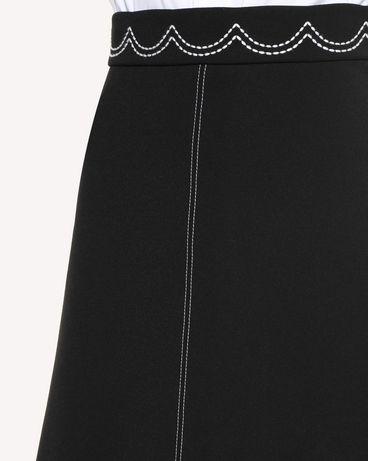 REDValentino RR3RAA950VM 0NO Midi Skirt Woman e