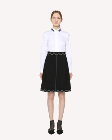 REDValentino RR3RAA950VM 0NO Midi Skirt Woman f