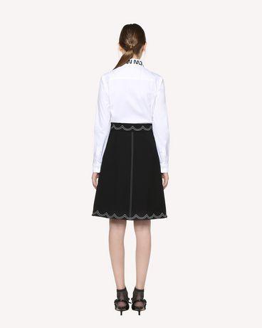 REDValentino RR3RAA950VM 0NO Midi Skirt Woman r