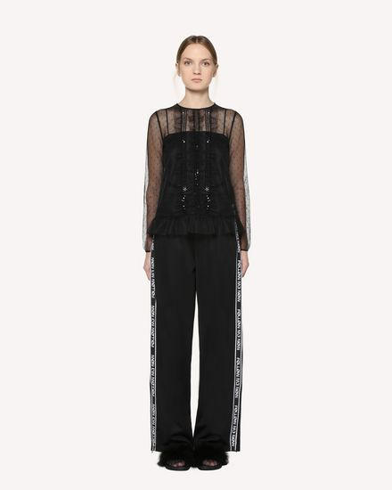 REDValentino Pants Woman RR3MD00EZID 0NO f
