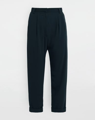 MM6 MAISON MARGIELA Casual pants [*** pickupInStoreShipping_info ***] Wide-leg tapered pants f