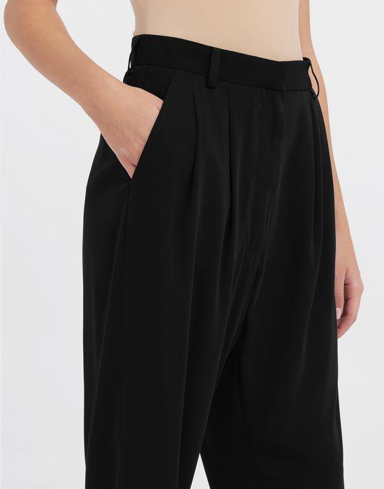 MM6 MAISON MARGIELA Wide-leg tapered pants Trousers [*** pickupInStoreShipping_info ***] a